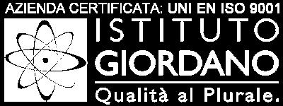 Azienda certificata UNI EN ISO 9001 Istituto Giordano